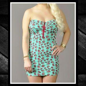 NWT IRON FIST Scary Prairie Strapless Dress